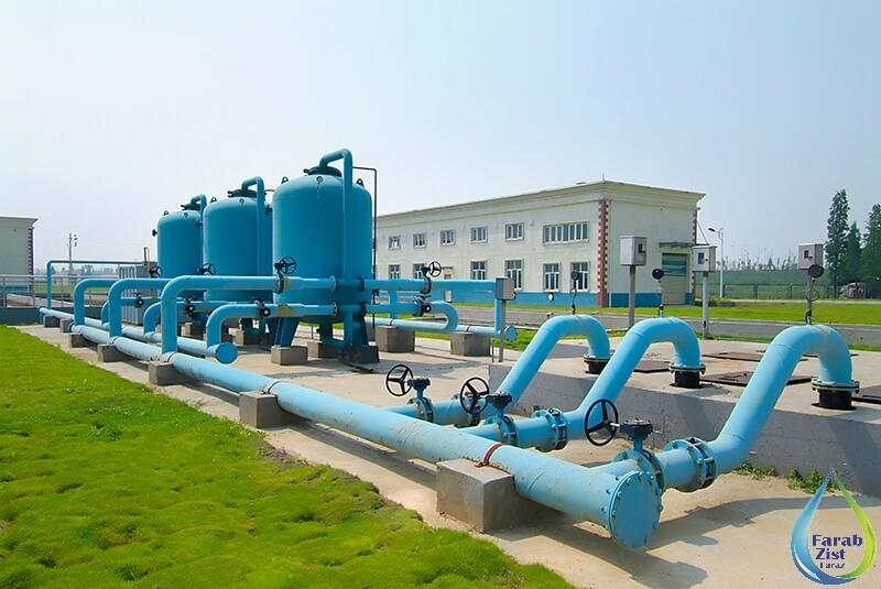 انواع تجهیزات و سیستم های تصفیه آب و فاضلاب
