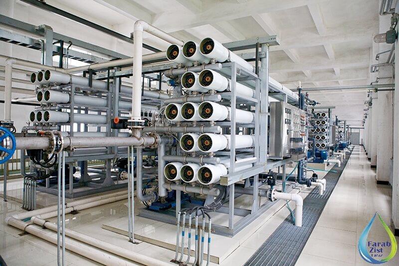 آب شیرین کن صنعتی - اسمز معکوس