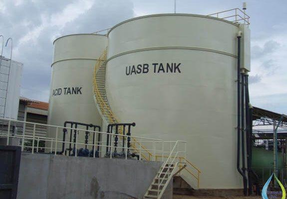 ساخت سیستم های تصفیه فاضلاب صنعتی با فرآیند UASB