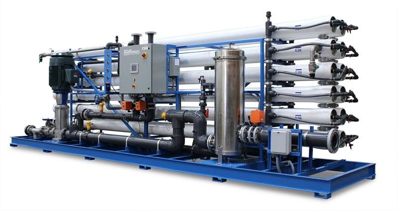مراحل تصفیه در تصفیه آب صنعتی
