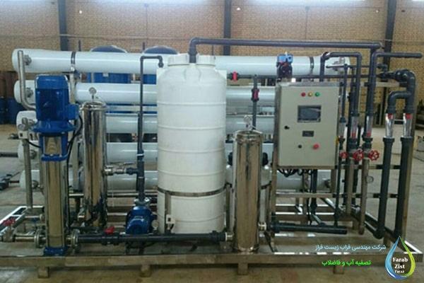 نگهداری از دستگاه تصفیه آب صنعتی
