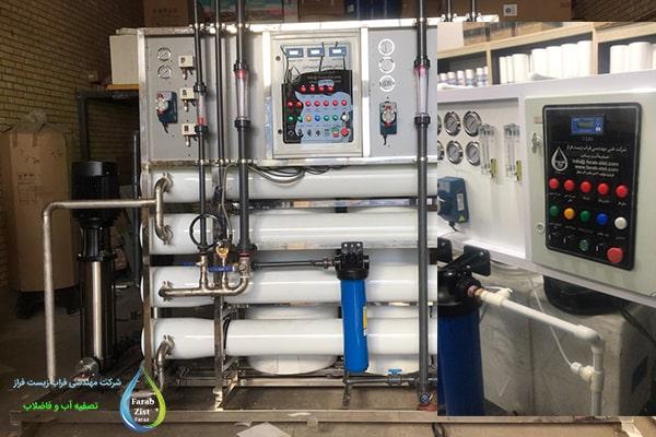 دستگاه تولید آب مقطر صنعتی