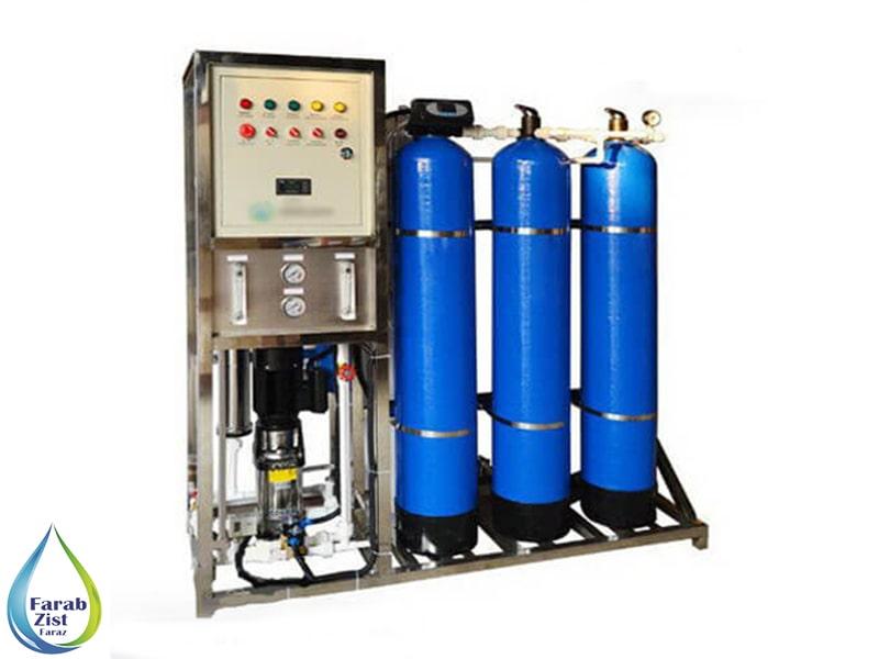 تولید آب بدون یون